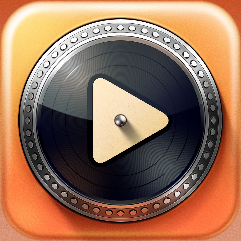 Turnplay - The #1 vinyl record player for iPad by Illya Kulakov icon