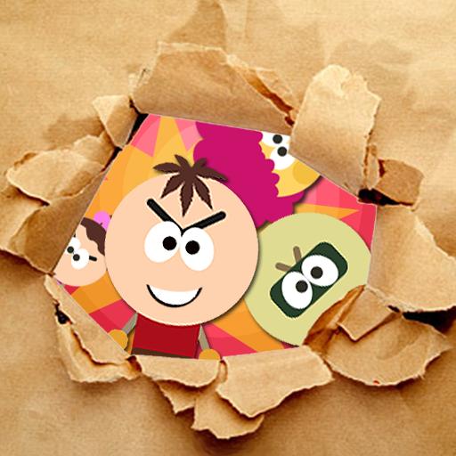 剪纸炸弹人:Paper Bomber HD